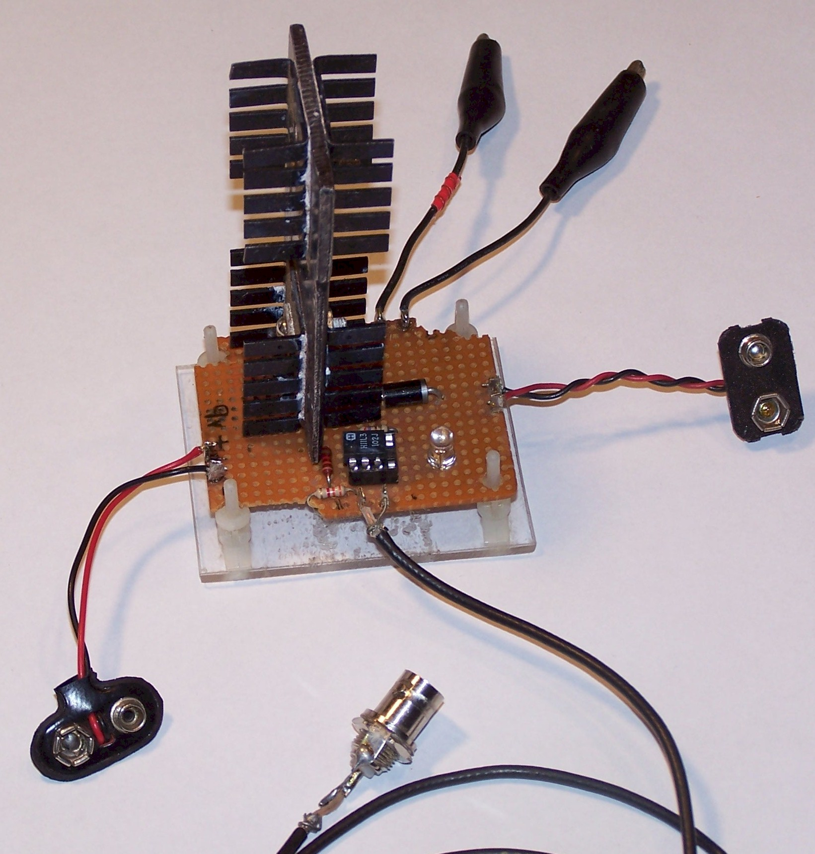 Experimental Realization Of A Low Power Solid State Tesla Coil Battery Switch Circuit Mosfet Updated 06 Transmitter